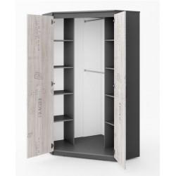 SANTANA SA-01 sarok szekrény, 99*99*192 cm