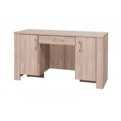 SEZAM R17 íróasztal, 140*55*77 cm - sonoma
