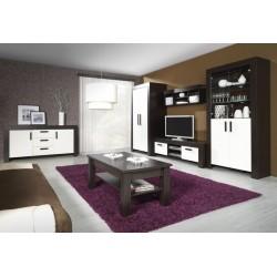SEZAM R14 TV szekrény, 170*52*51 cm - krém/milánó