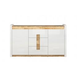 ALAMEDA KOM2D3S 2 ajtós+3 fiókos komód, 172*41*96,5 cm