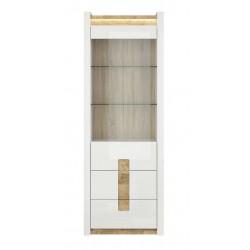 ALAMEDA REG1W2S vitrin, 75*41,5*201,5 cm