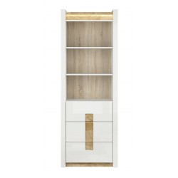 ALAMEDA REG3S polcos szekrény, 72*41,5*201,5 cm