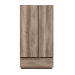Anticca SZF2D1S akasztós+polcos szekrény, 108*61,5*205,5 cm