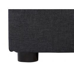 ANIA 3K kanapé, 192*89*93 cm - Sawana 21 grey/Sawana 96 grafit