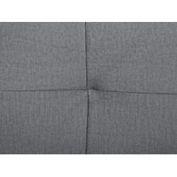 DIVALA LUX 3DL kanapé, 239*102*88 cm - Matt Velvet 63 Violet/Monolith 85 grey