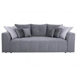 ROYAL IV Mega Lux 3DL kanapé, 247*116*96 cm - Raquel 13 Grey/Otusso 23 Grey