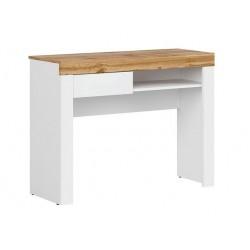 HOLTEN BIU1S fésülködőasztal, 106,2*40*81,5 cm - wotan tölgy/fehér ÚJDONSÁG!