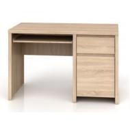 KASPIAN BIU1D1S/120 íróasztal, 120*65*77 cm - sonoma