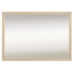 KASPIAN LUS/100 tükör, 105*2*77 cm - sonoma