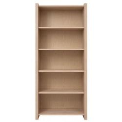 KASPIAN REG90 nyitott polcos szekrény, 90*40,5*200,5 cm - sonoma