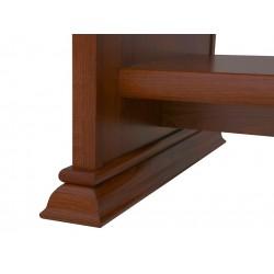 KENT ELAW 130 dohányzóasztal, 130*65*51,5 cm - gesztenye