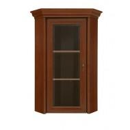 Kent ENAD 1WN sarok vitrin rátét, 58,5*58,5*114,5 cm