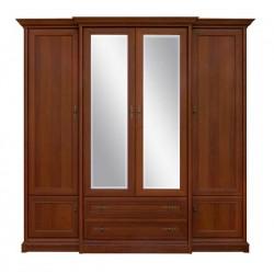 Kent ESZF4D2S gardróbszekrény, középen tükörrel, 227*65,5*225 cm