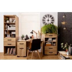 LARA BIU1D1S íróasztal, 117*58*73,5 cm - Belarusz kőris ÚJDONSÁG!