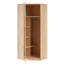 Namek SZFN1D sarok szekrény, 79,5*79,5*198,5 cm