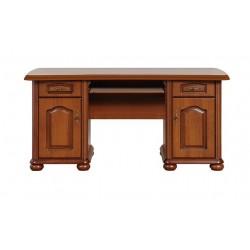 NATALIA BIU 160 íróasztal, 160*75*77 cm - primavera meggy