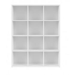 NEPO PLUS REG/15/12 polcos szekrény, 114*38,5*149,5 cm - fehér
