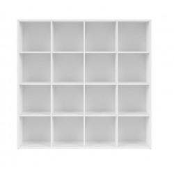 NEPO PLUS REG/15/16 polcos szekrény, 151*38,5*146,5 cm - fehér