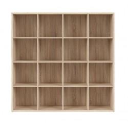 NEPO PLUS REG/15/16 polcos szekrény, 151*38,5*146,5 cm - sonoma tölgy