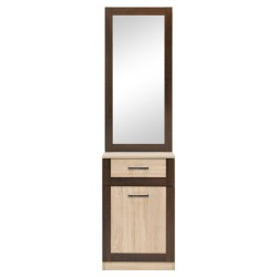 BOSS BS14 előszoba tükörrel, 55*35,5*198 cm