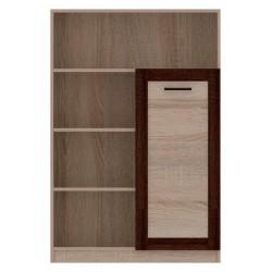 BOSS BS18 polcos szekrény, 96*40*142,6 cm