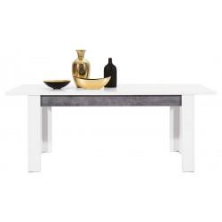BRANDO B10 étkezőasztal, 160/200*90*76,5 cm
