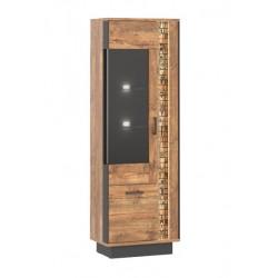 DORIAN DN6 vitrin, 63,5*39,5*192 cm