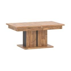 DORIAN DN11 bővíthető dohányzóasztal, 114-144*68*51,5 cm