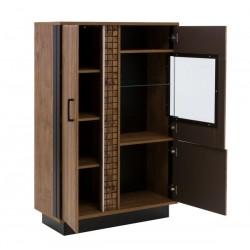 DORIAN DN5 alacsony vitrin, 94,5*39,5*144,5 cm