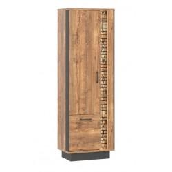 DORIAN DN8 polcos szekrény, 63,5*39,5*192 cm