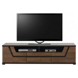 TES TS1 TV állvány, 176*50*47 cm - dió
