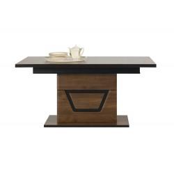 TES TS9 étkezőasztal, 160/200*90*77 cm - dió  ÚJDONSÁG!