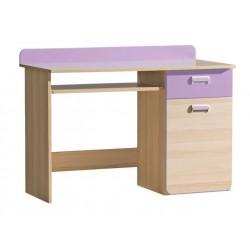 EGO L10 íróasztal, 120*55*87 cm - lila
