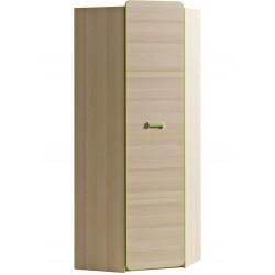 EGO L14 sarok szekrény, 71*71*188 cm - zöld