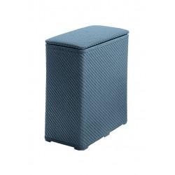 AMBROGIO szennyestartó, 50*28*55 cm - kék