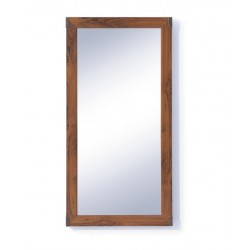 INDIANA JLUS 50 tükör, 50*2,5*100 cm - sutter tölgy