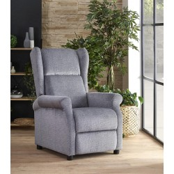Agustin fotel, 75*92*107 cm - szürke