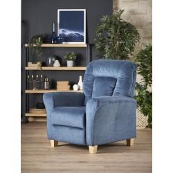 Bard fotel, 90*90*102 cm - sötétkék
