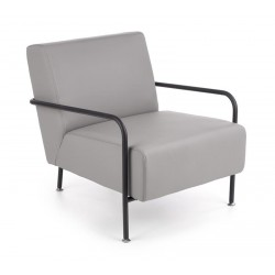 Cuper fotel, 69*82*75 cm - szürke