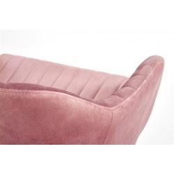 FRESCO ifjúsági forgószék, 57*55*79/89 cm - rózsaszín