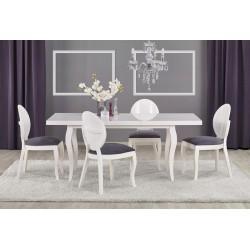 MOZART étkezőasztal, 140/180*80*75 cm - fehér