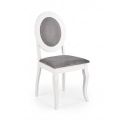 BAROCK étkezőszék, 45*51*93 cm - fehér/szürke