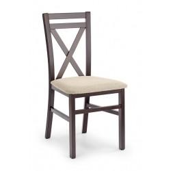 DARIUSZ étkezőszék, 45*49*90 cm - sötétdió/Vila 2