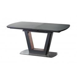 BILOTTI étkezőasztal, 160/200*90*76 cm - antracit