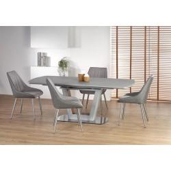 BILOTTI étkezőasztal, 160/200*90*76 cm - világos szürke