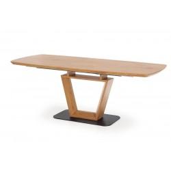 BLACKY étkezőasztal, 160/220*90*76 cm - arany tölgy