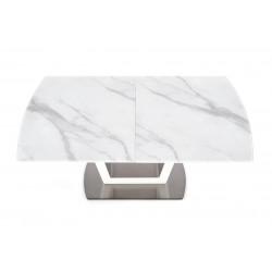 BLANCO étkezőasztal, 160/200*90*76 cm - fehér