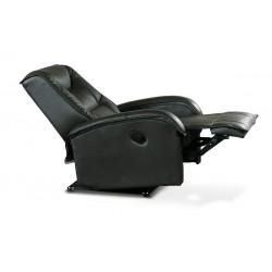 JEFF relax fotel, 85*93*101 cm - fekete