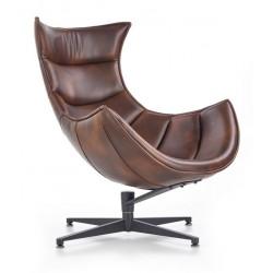 LUXOR fotel, 86*84*96 cm - sötét barna