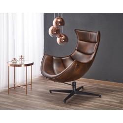 Luxor fotel, 86*84*96 cm - sötétbarna